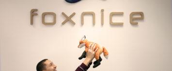 Met El Idrissi en la oficina de Foxnice